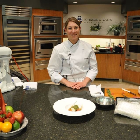 Danielle Riesz, award-winning pastry chef